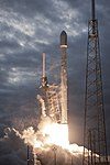 Launch of Falcon 9 carrying THAICOM 6 (16789019815).jpg
