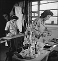 Laundry in Wartime- the work of Gleniffer Laundry, Catford, London, England, UK, 1944 D23249.jpg