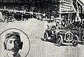 Le dernier virage de Maurice Fournier avant son décès, Grand Prix de France 1911 au Mans.jpg