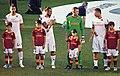 Leandro Castán, Osvaldo, Lobont, Totti.jpg