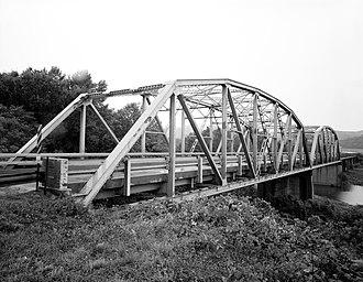 Lee Creek Bridge (Natural Dam, Arkansas) - Image: Lee Creek Bridge