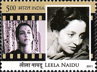 Leela Naidu - Naidu on a 2011 stamp of India