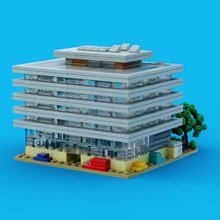 Lego Main Library (360° video)
