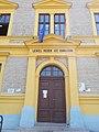 Lehel Vezér high school. Portal. - Jászberény, Hungary.JPG