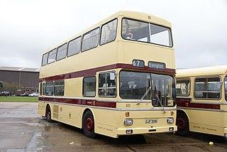 Scania Metropolitan Double deck bus, produced 1973-79