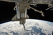Leonardo Multi-Purpose Logistics Module In Discovery's Payload Bay During STS 131