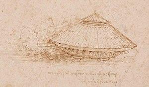 Leonardo da Vinci, design for a tank.