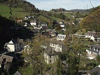 Les Angles, Hautes-Pyrénées - A general view of the village