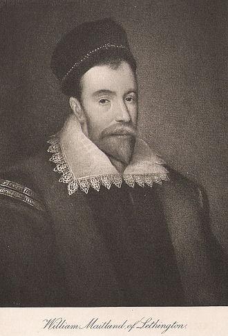 William Maitland of Lethington - William Maitland of Lethington