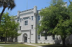 Campus of The Citadel, The Military College of South Carolina - Image: Lettelier Hall