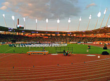 Opening ceremony of the new stadium (August 30, 2007)