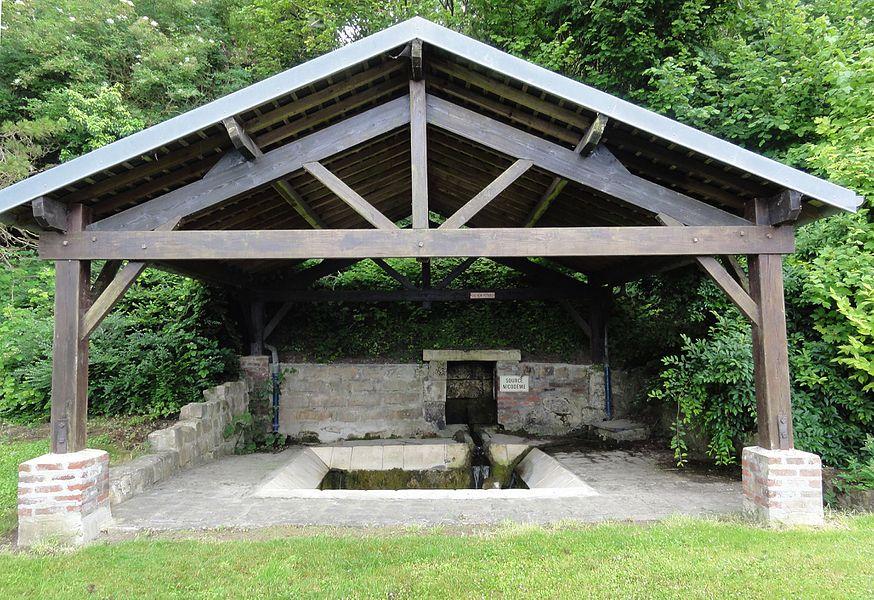 Leury (Aisne) lavoir-source Nicodème