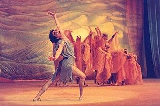 Azerbaijani ballet - Scene from the ballet Leyli and Majnun by Gara Garayev