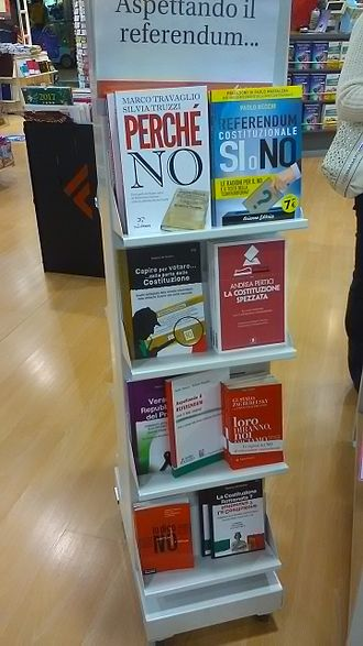Italian constitutional referendum, 2016 - Books about the 2016 constitutional referendum.