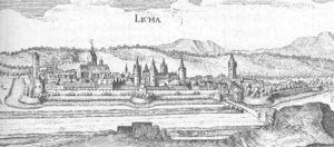 Lich, Hesse - Lich in the Topographia Hassiae from Matthäus Merian 1655