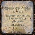 Liebenburg Stolperstein Rosenthal, Sophie.jpg