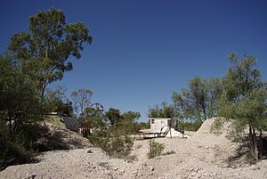 Lightning Ridge, New South Wales - Fossicking field in Lightning Ridge