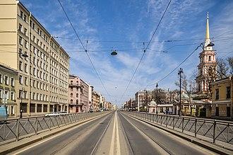 Ligovsky Avenue - Image: Ligovsky Avenue 1