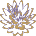 Lilium Abstract Gold Outlined.png