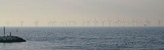 Lillgrund Wind Farm - Lillgrund Wind Farm seen from Klagshamns point