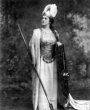 Lillian Nordica - Nordica as Brünnhilde, 1898