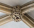 Lincoln Cathedral Consistory Court roof Boss, North west (39548499494).jpg