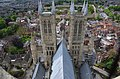 Lincoln Cathedral from central tower (27534508956).jpg