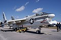 Ling-Temco-Vought A-7A Corsair II BuNo 153135 RSideFront TICO 13March2010 (14412851208).jpg