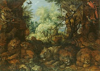 Lions in a Landscape