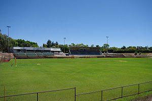 Litis Stadium - Image: Litis stadium gnangarra 01