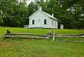 Little-white-country-church-fence - West Virginia - ForestWander.jpg