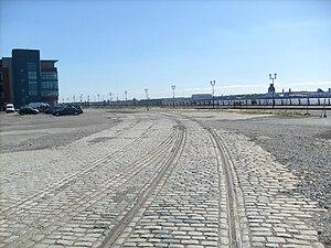 Liverpool Riverside railway station - Site of Liverpool Riverside Station in August 2010