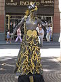 Living statues in La Rambla - 2004 - 02.JPG