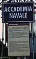 Livorno Accademia Navale sign 01.JPG