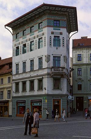 Ciril Metod Koch - Image: Ljubljana BW 2014 10 09 12 22 15