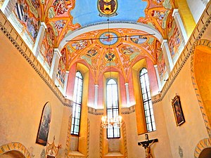 Ljubljana Castle - Interior of St. George's Chapel
