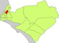 Localització del Rafal Vell respecte del Districte de Llevant.png