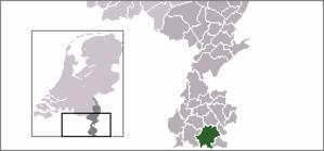 Gulpen - Image: Locatie Gulpen Wittem