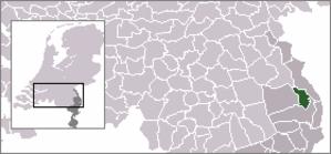 Meerlo-Wanssum - Image: Locatie Meerlo Wanssum