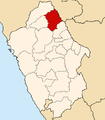 Location of the province Sihuas in Ancash.PNG