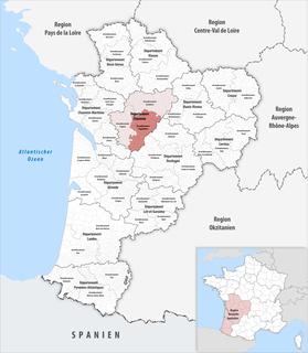Arrondissement of Angoulême Arrondissement in Nouvelle-Aquitaine, France