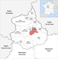 Locator map of Kanton Chartres-2 2019.png