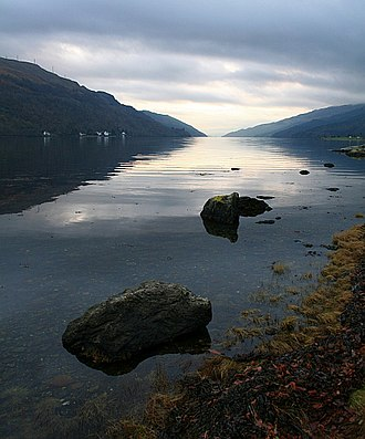 Loch - Looking down Loch Long, which is a quite long sea loch