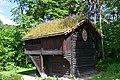 Loft storehouse, ca. 1300, Norsk Folkemuseum, Oslo (2) (35658640323).jpg