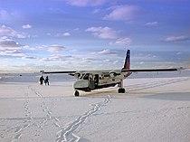 Loganair Islander at Fair Isle.jpg
