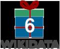 Logo sixth Wikidata Birthday.png