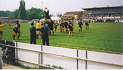London Irish's Final Game at Sunbury - geograph.org.uk - 251557.jpg