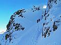 Lords' rake scafell in snow 2010.jpg
