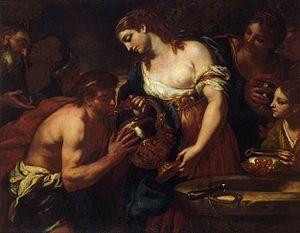 Johann Carl Loth - Image: Loth, Johann Carl Eliezer and Rebecca at the Well 1670s