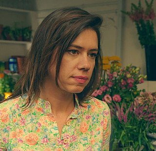 Lou Sanders British stand-up comedian, writer and actress